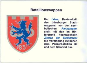 1 Btl-Wappen, Erläuterung