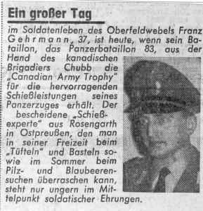 1964 8 Zeitungsartikel