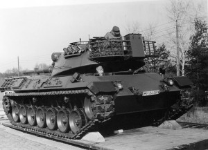 1966 2  der 1. Leopard 1 im Btl