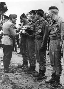 1973 3 H Widder, Olt Abels,Lt Hahn, Lt Büschke, OFw Pötters