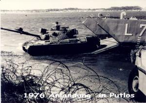 1976 Anlandung in PUTLOS 2