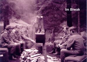 1982 S4 Abteilung im Biwak