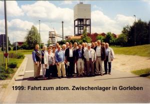 1999 Fahrt zum atom. Zwischenlager Gorleben