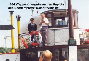 1994  Raddampfer Kaiser Wilhelm