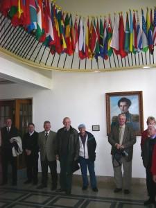 2005 FüAk Sammeln im Stabsgebäude
