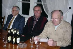 2005 Gustav Detje, Klaus Hartwivh, Wilhelm Greiner