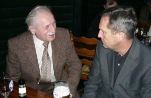 2005 Mitgliederversammlung Gerhard Hoheisel, Werner Gruhl
