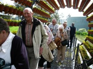 2005 Teile unserer Gruppe im Blumenrad