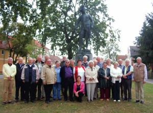 2006 Ein letztes Gruppenbild in Letschin