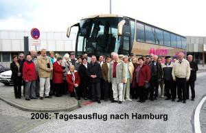 2006  Tagesausflug nach Hamburg