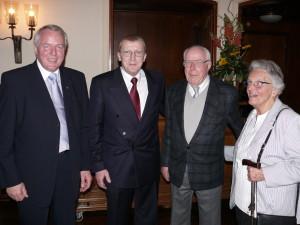 2007 E.Friedrichs, W.Brüschke, H.Olbermann, Frau Moreaux