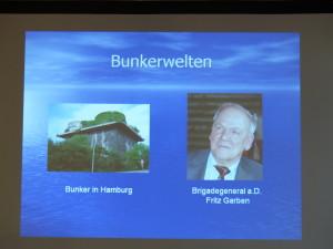 TV - PzBtl.83 - Frühjahrsstammtisch / Vortrag Brig-Gen. a.D. Fritz Garben : Bunkerwelten - Okt. 1940
