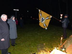 TV-PzBtl.83 versammelt sich zum Totengedenken